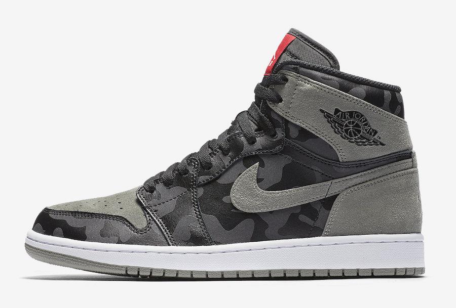 6dafa49ff4548 The Air Jordan 1 High Gets Covered In Camo • KicksOnFire.com
