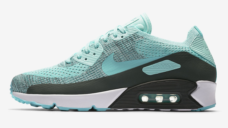low priced dc53f 48712 Turquoise And Grey Come Together On The Nike Air Max 90 ...