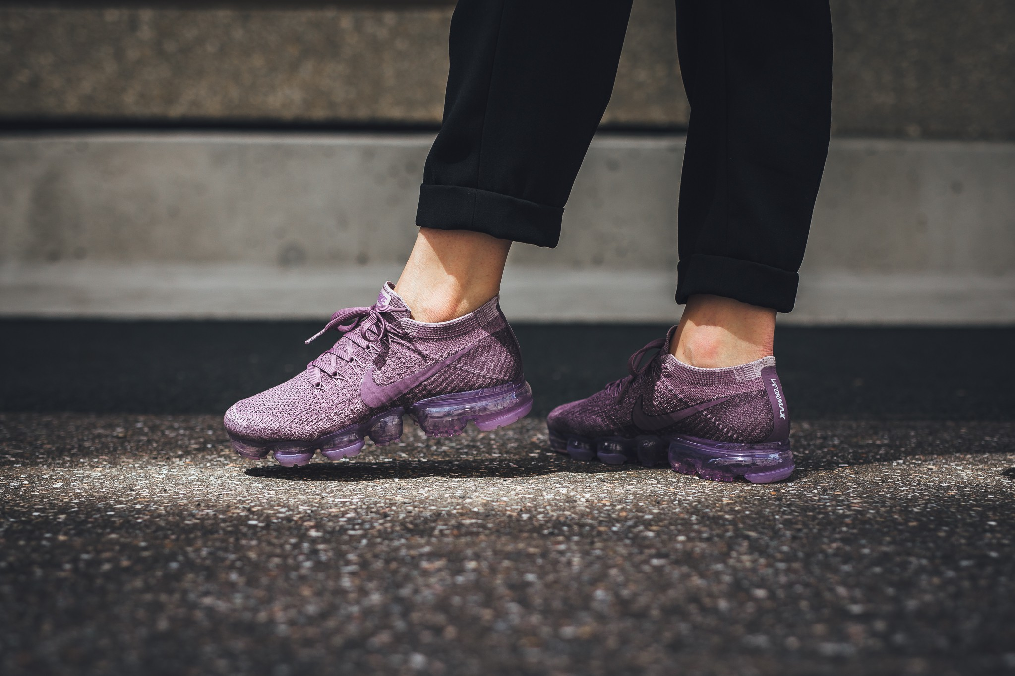 new styles 7f80a d7517 Release Reminder: Nike Air VaporMax Violet Dust ...