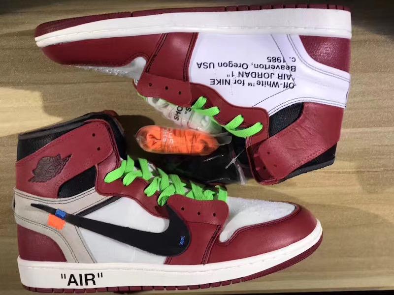 The Off-White x Air Jordan 1 High Is