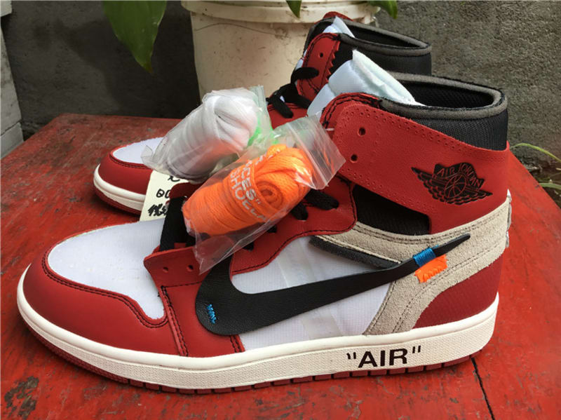 the latest f46f2 f4681 The OFF-WHITE x Air Jordan 1 High Will Retail For $350 ...