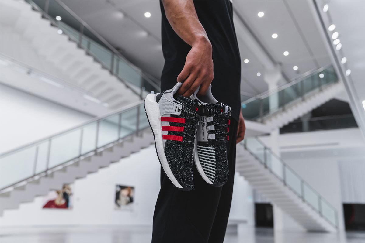 Adidas x Overkill EQT Support