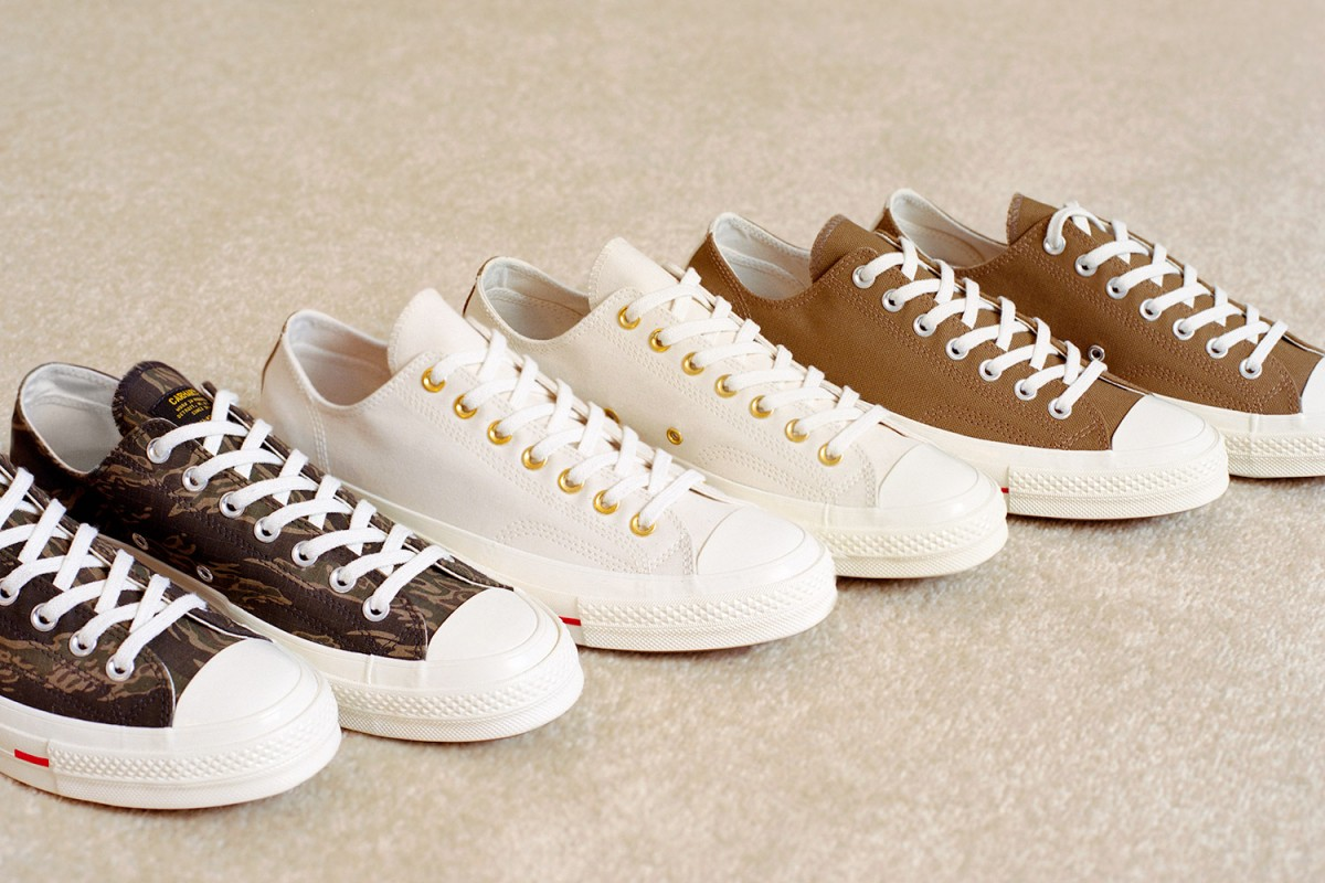 Release Info On The Carhartt WIP x Converse Chuck Taylor All
