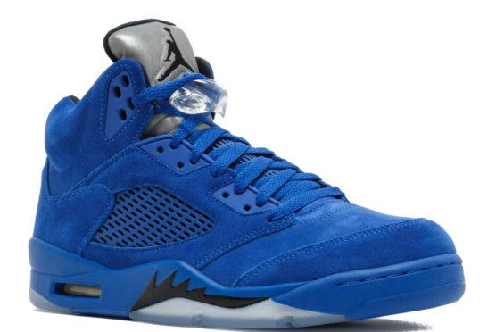 air jordan 5 blue