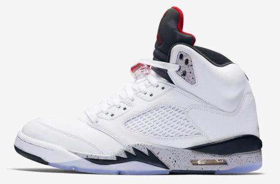 save off b9f4b 0ff0d Air Jordan 5 White Cement • KicksOnFire.com