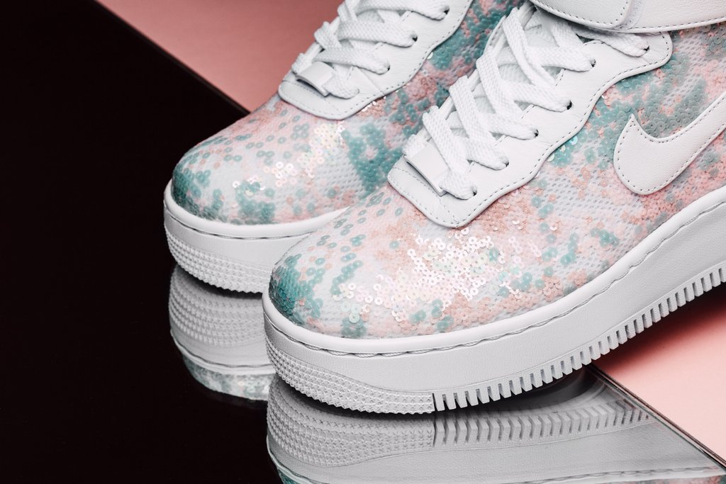 The Nike Air Force 1 Upstep Hi LX Summer Shine Is Now