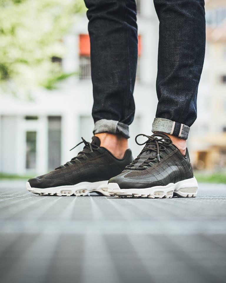 Cargo Khaki Black Land On The Latest Nike Air Max 95 Ultra
