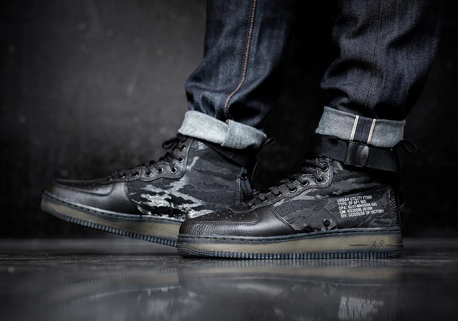 Nike Special Field Air Force 1 On Feet   HYPEBAE