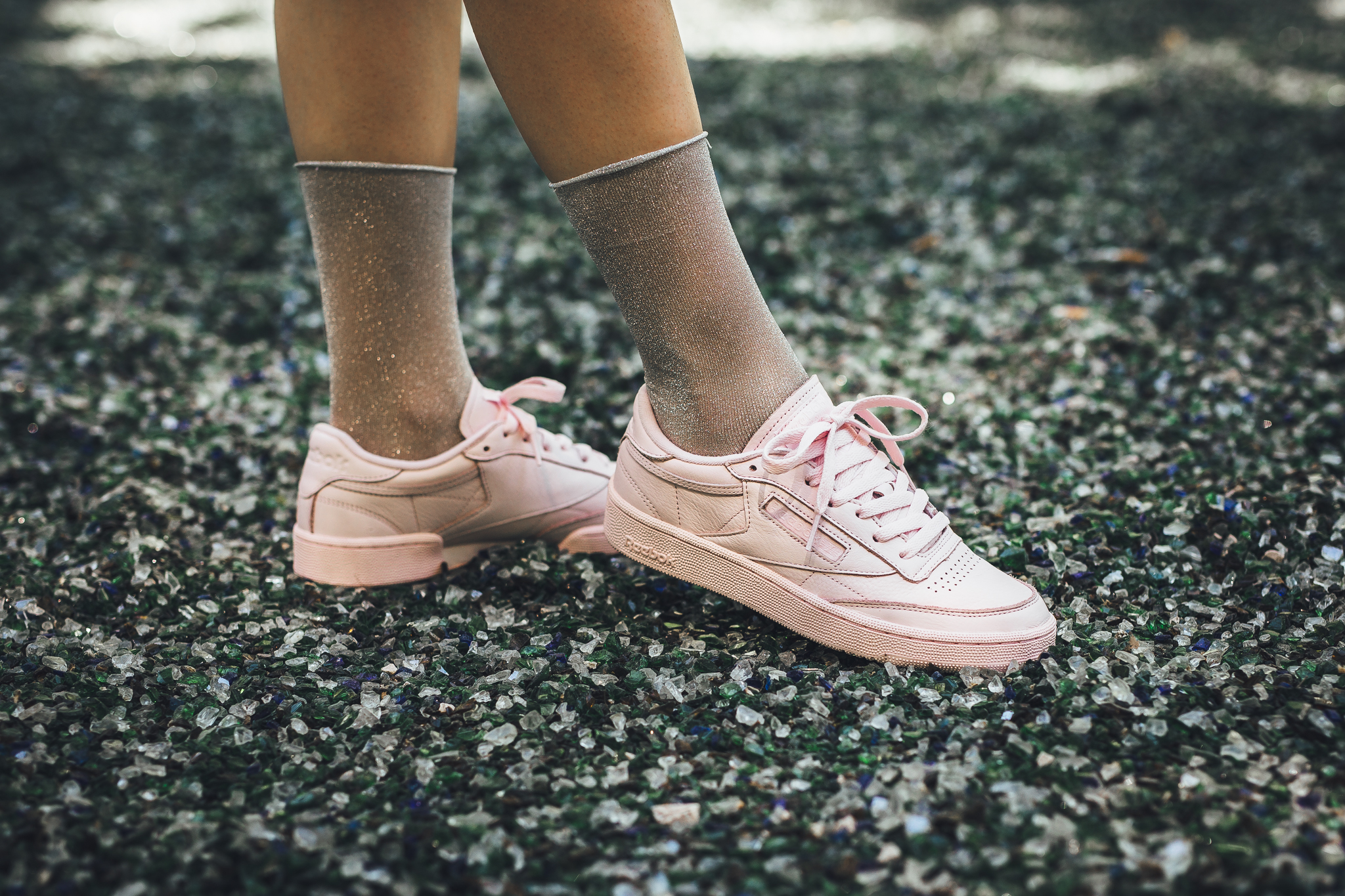 Spring pastel colors come to the classic Reebok Club C '85