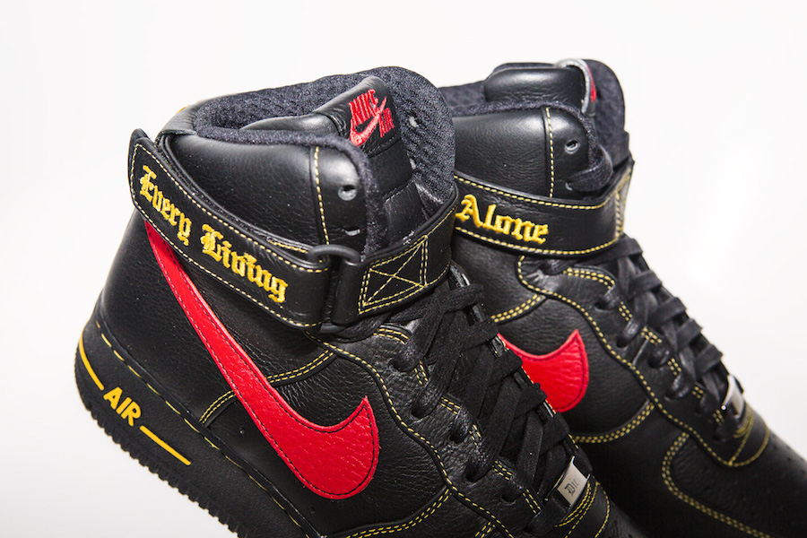 Mirar atrás Triatleta musical  The New VLONE x Nike Air Force 1 High Collection Was Limited To 20 ...