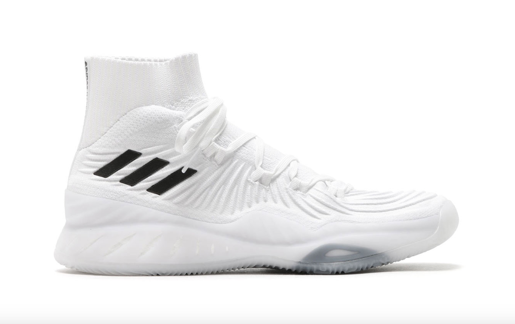 adidas crazy explosive white