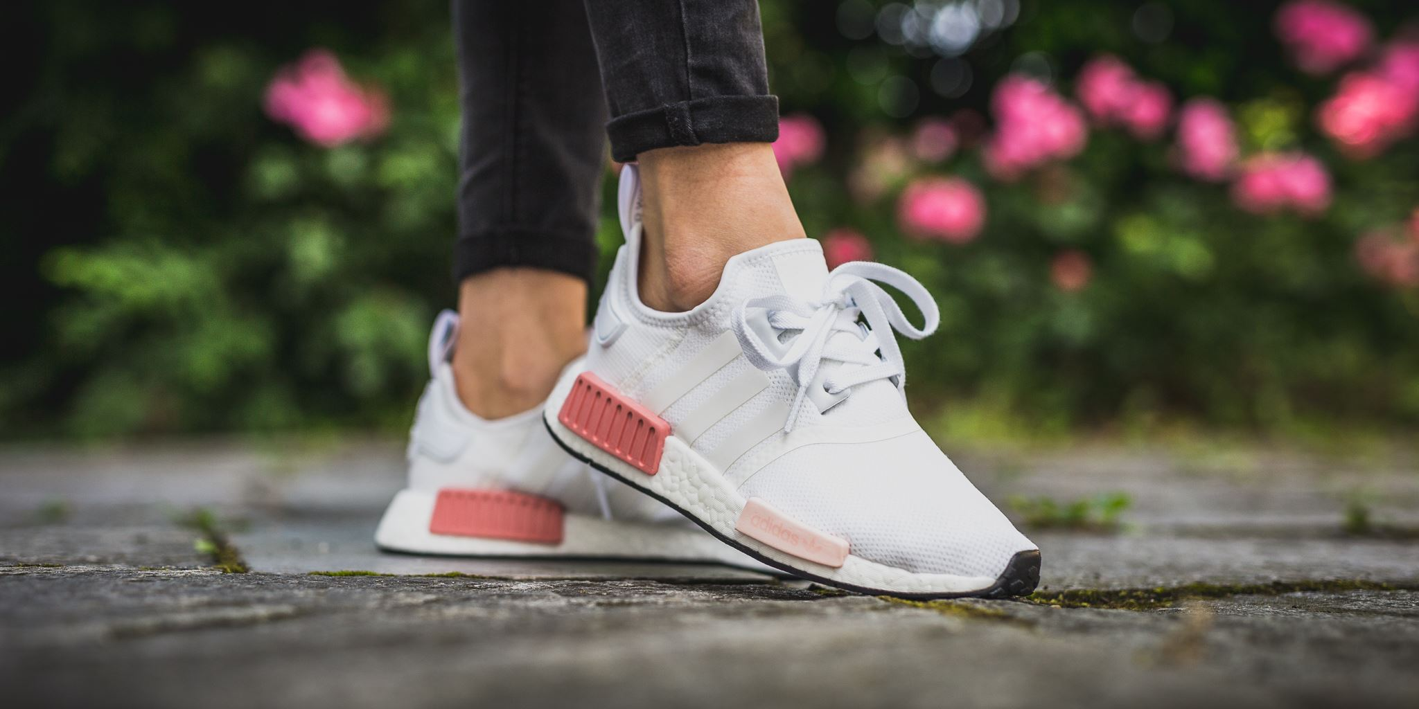 Look Out For The adidas NMD R1 White Rose • KicksOnFire.com