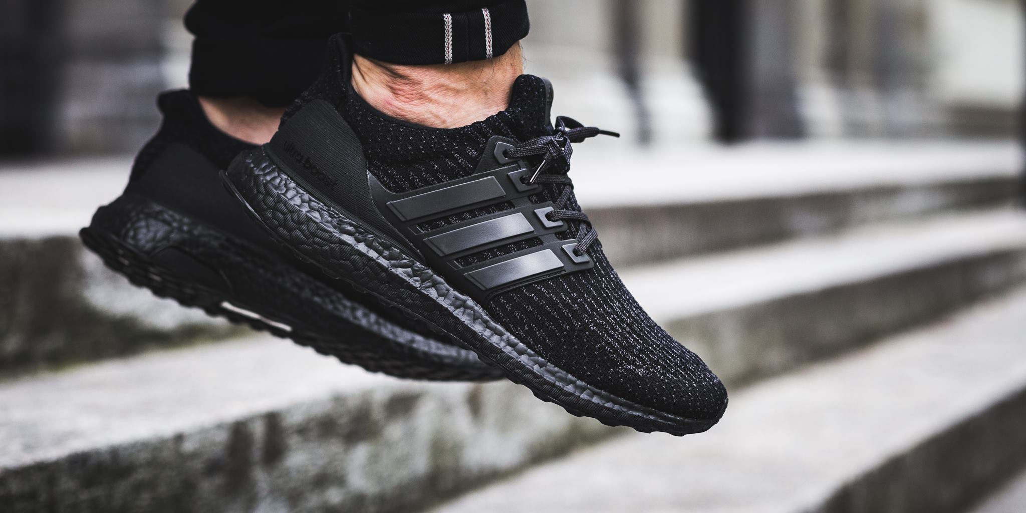 various colors d5603 36abe Release Reminder: adidas Ultra Boost 3.0 Triple Black ...