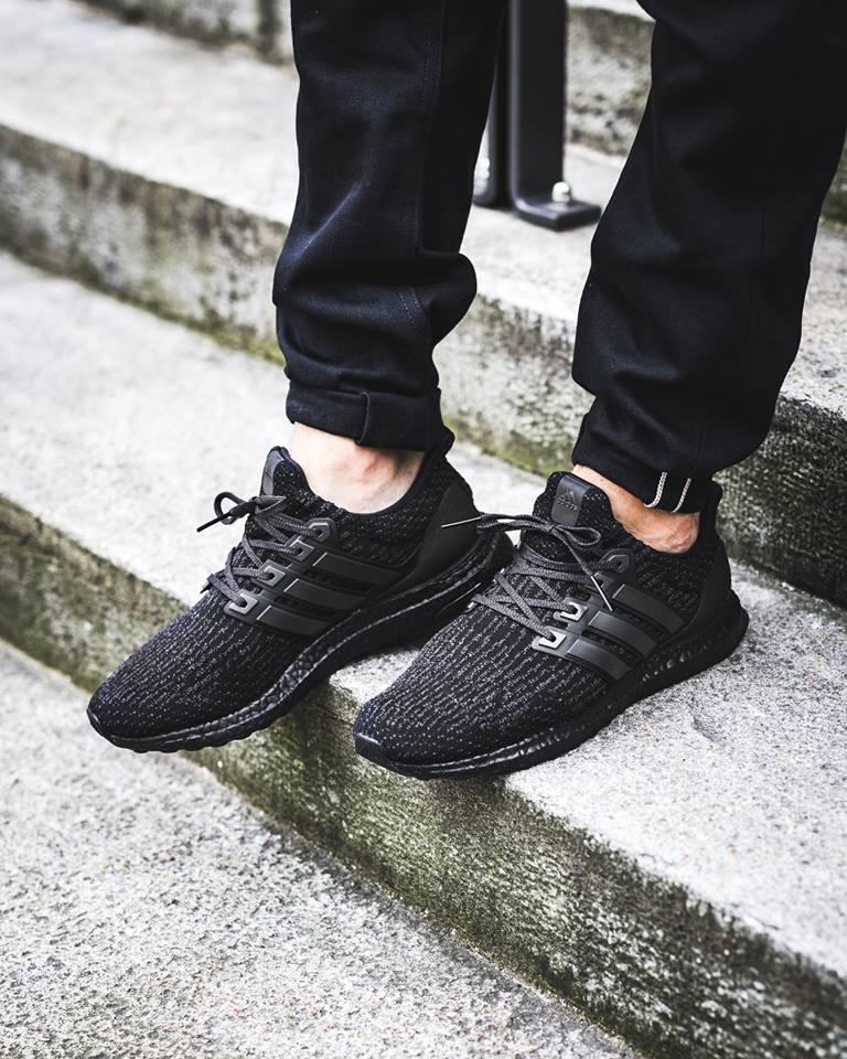 Release Reminder Adidas Ultra Boost 3 0 Triple Black Version 2 Kicksonfire Com