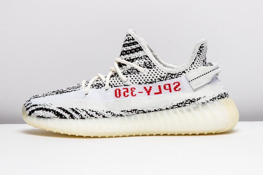 sale retailer 7cbec ebd1f adidas Yeezy Boost 350 v2 Zebra • KicksOnFire.com