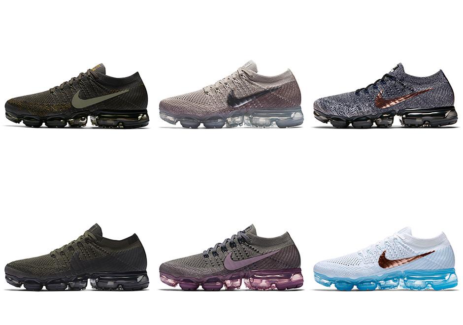 Nike Air VaporMax + Release Dates