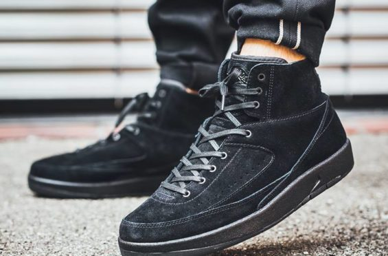 lowest price f179c c2922 Air Jordan 2 Decon Triple Black/Sail/Thunder Blue ...