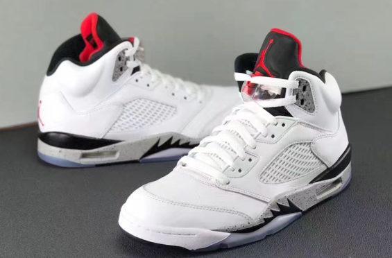 save off 462c2 19a88 Air Jordan 5 White Cement • KicksOnFire.com