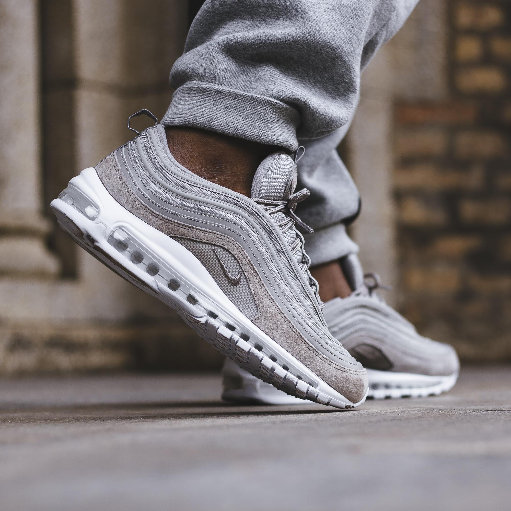Nike Running Mens Air Max 97 Cobblestone Cobblestone White