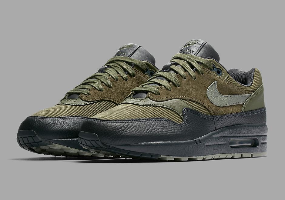 The Nike Air Max 1 Premium Surfaces In Dark Stucco