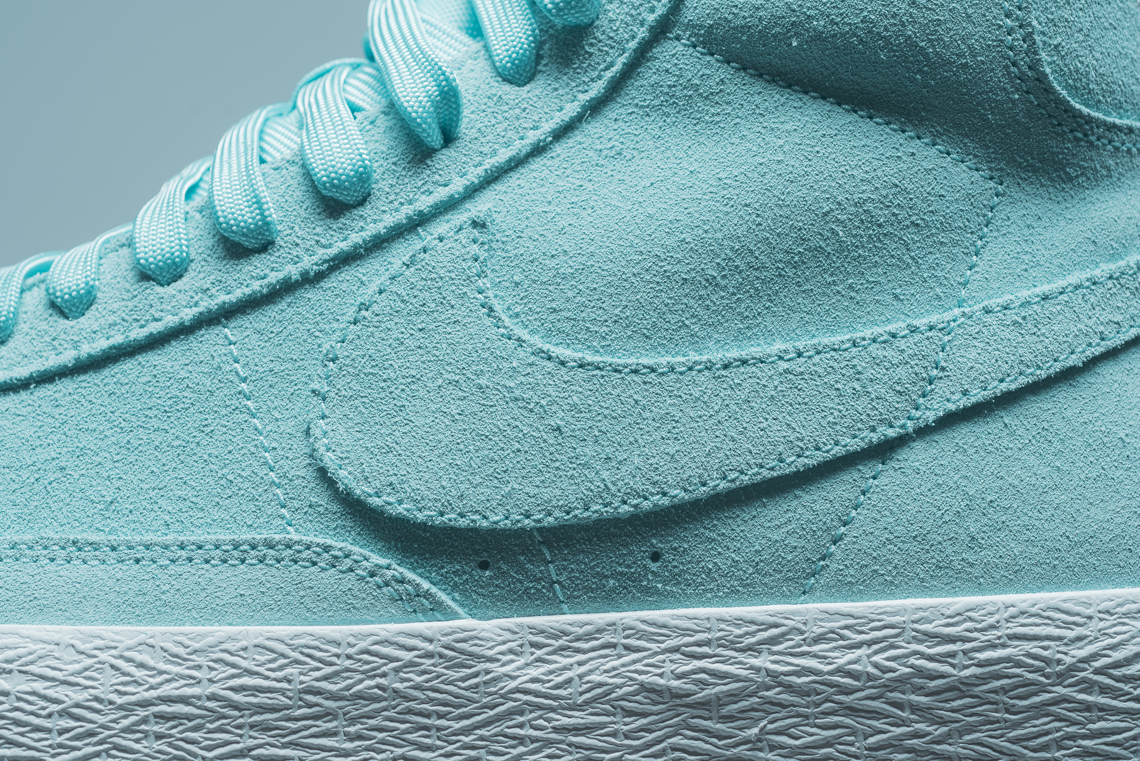 brand new e08b3 8fae9 The Nike Blazer Mid Gets Covered In Island Green ...