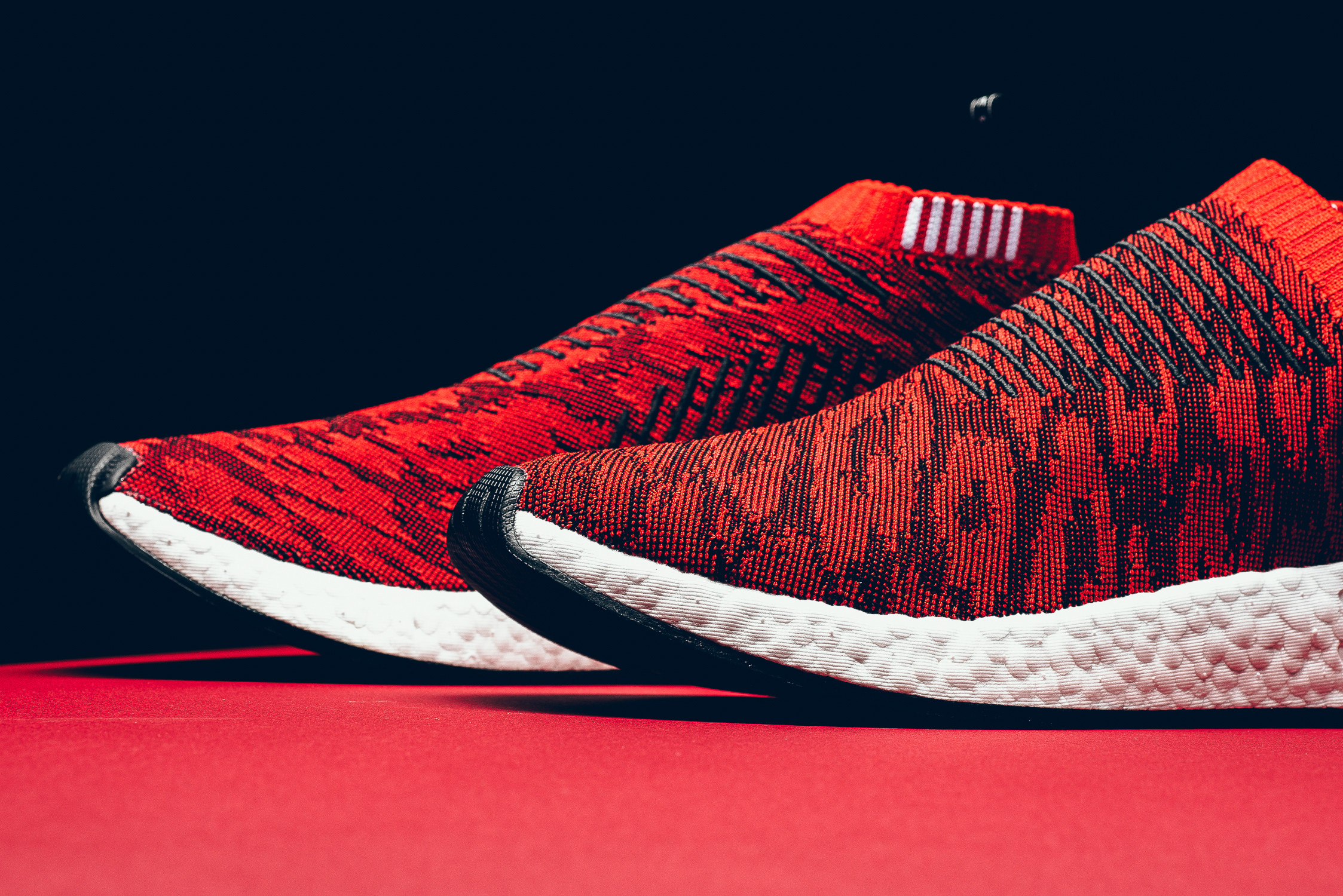 best loved 15fc6 290fb A Detailed Look At The New Bright Red adidas NMD City Sock 2 ...