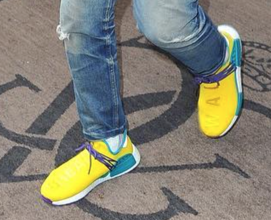 innovative design 1f313 462bc Pharrell Spotted In New Pharrell x adidas NMD Human Race ...