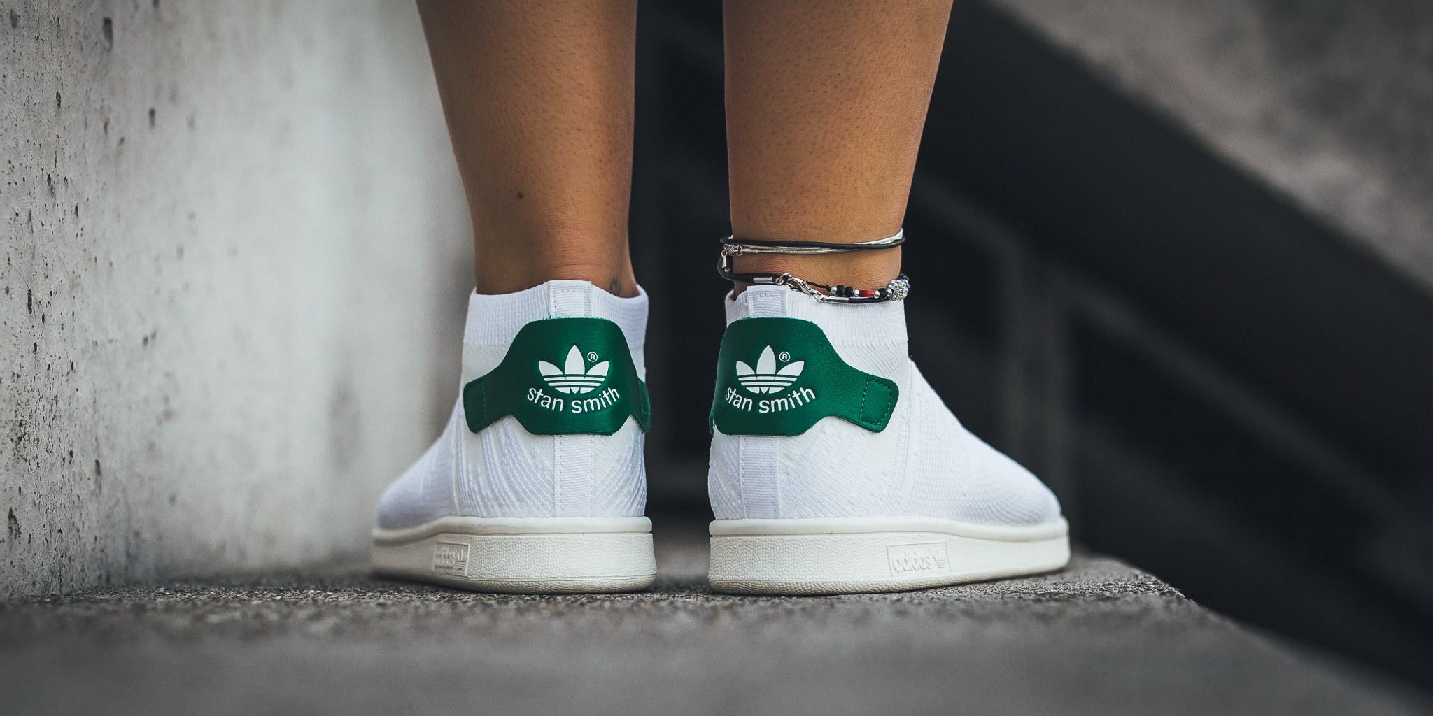 adidas stan smith sock primeknit w