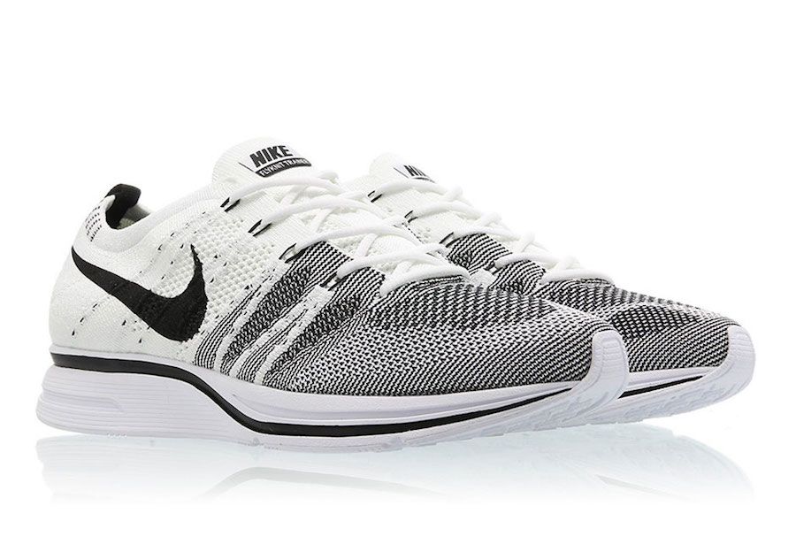 buy popular 06c27 b247b The White and Black Nike Flyknit Trainer finally has a release date and get  this, it s actually less than a week away.
