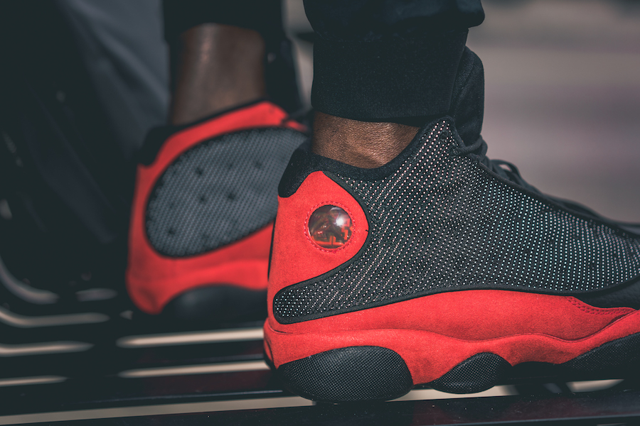 online retailer f5b48 6a5c4 On-Feet Images Of The Air Jordan 13 Bred 2017 That Returns ...