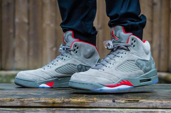 check out c3160 3d5c4 Air Jordan 5 Camo • KicksOnFire.com