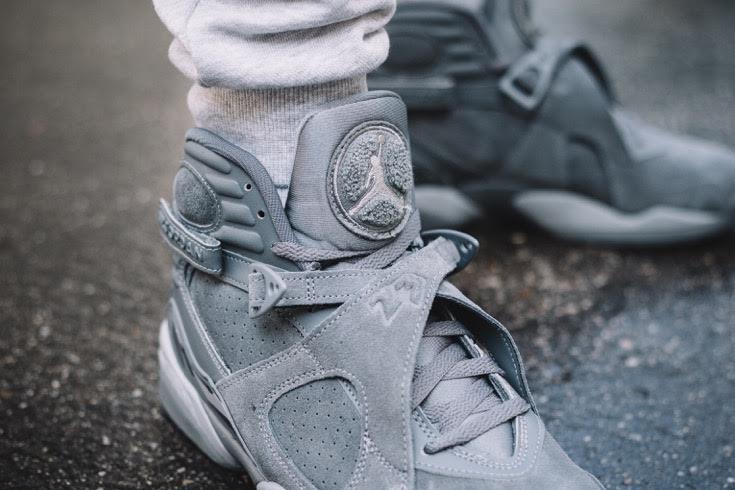The Air Jordan 8 Cool Grey Looks To