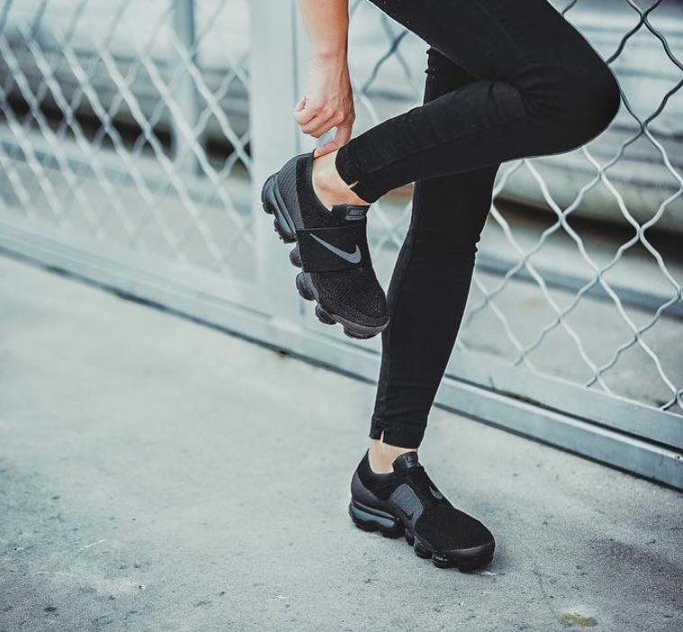 Here S How The Nike Air Vapormax Strap Looks On Feet Kicksonfire Com