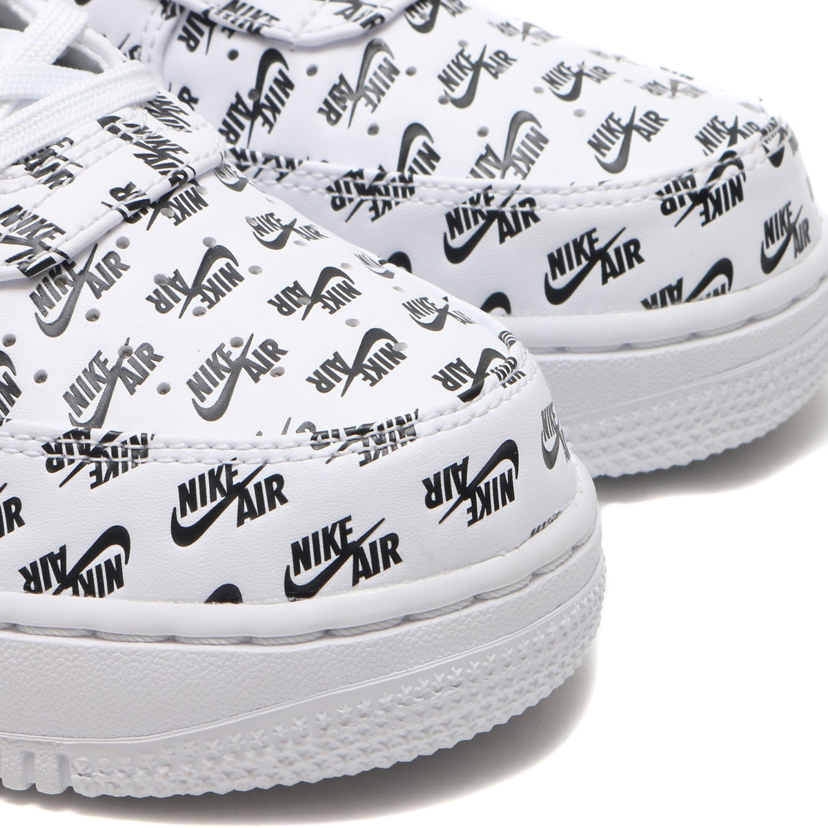 Get Ready For The Nike Air Force 1 Low Logo White Black