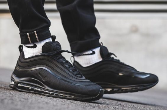 where to buy finest selection save off Look For The Nike Air Max 97 Ultra Triple Black Now ...