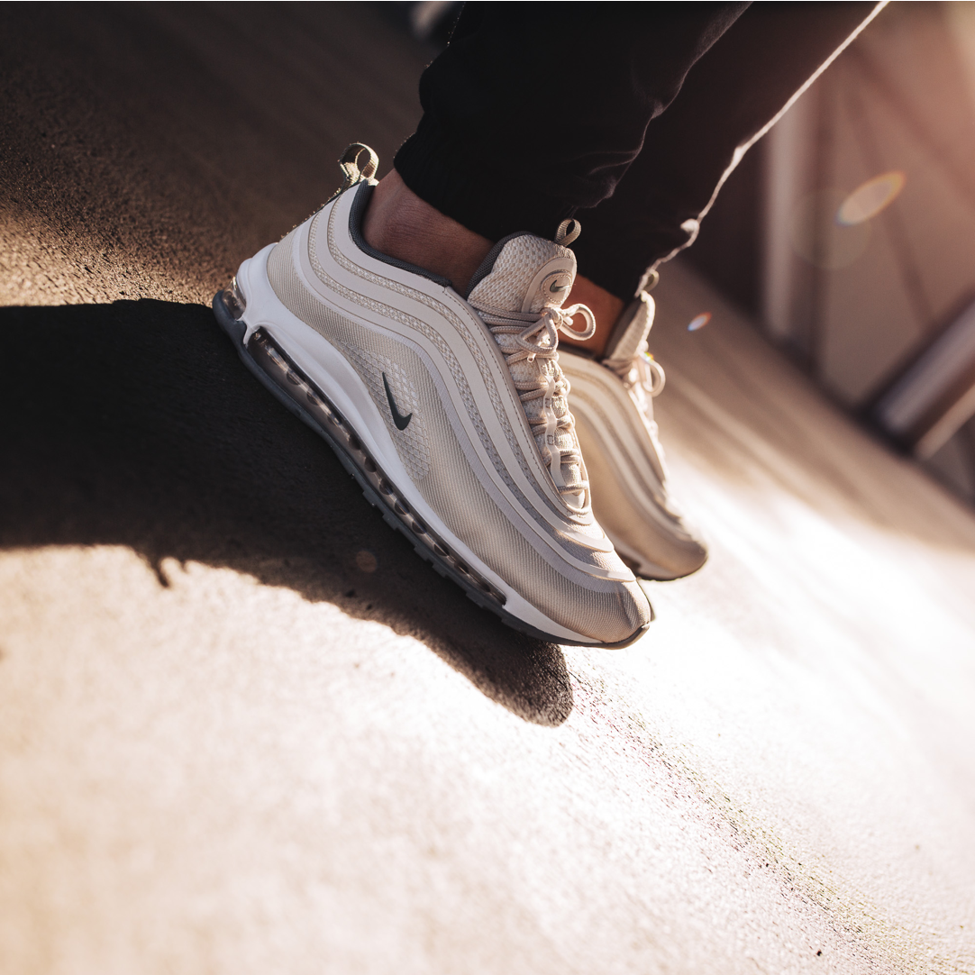 An On Feet Look At The WMNS Nike Air Max 97 Ultra In Light