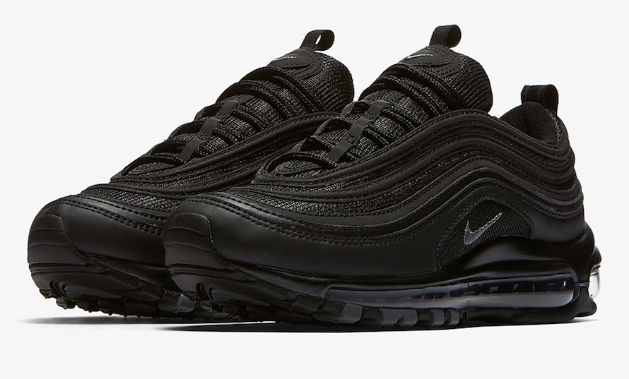 low cost popular brand elegant shoes Official Images: Nike Air Max 97 Triple Black • KicksOnFire.com