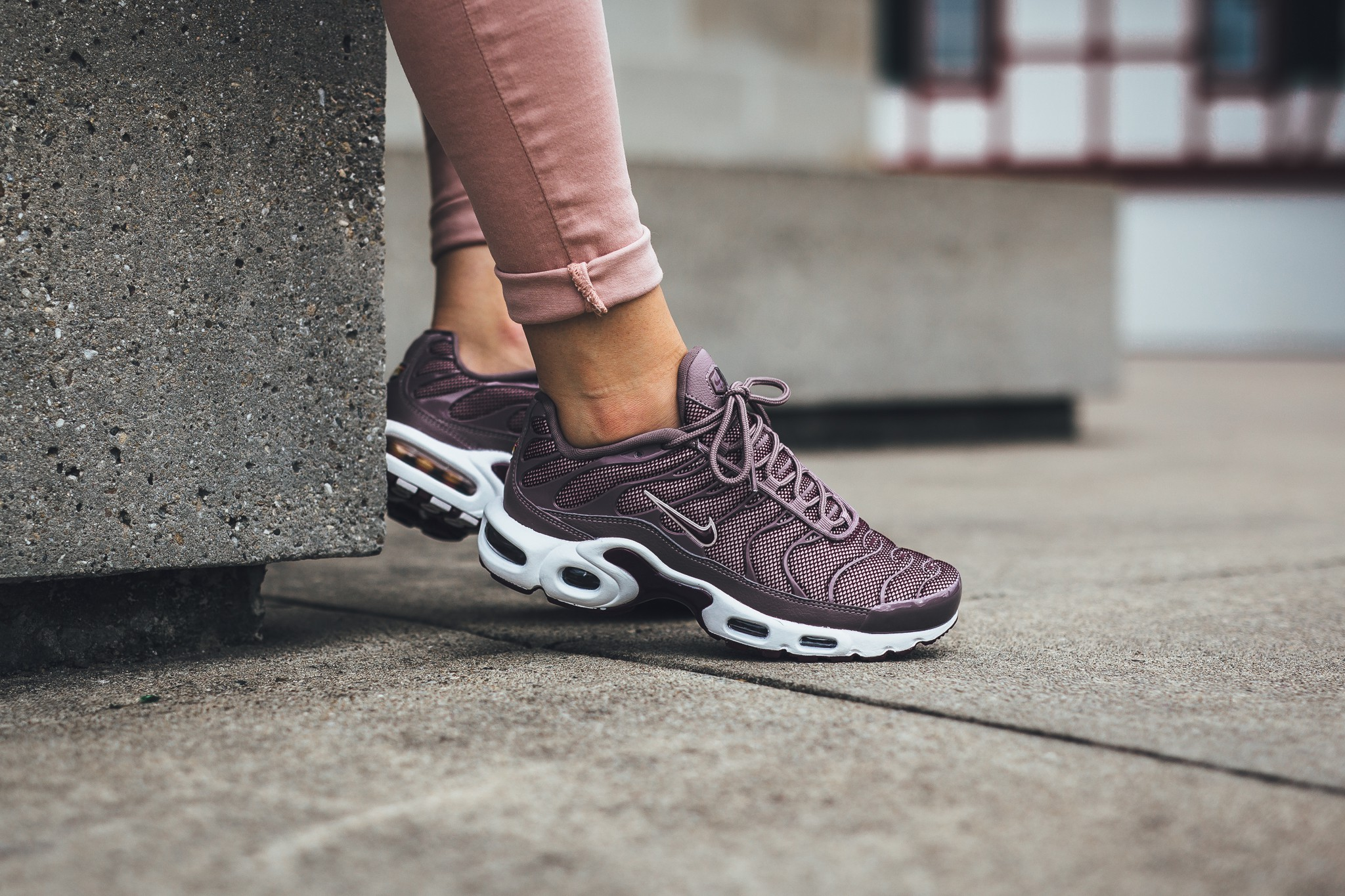 Taupe Grey & Bordeaux Mix On The Next Nike Air Max Plus