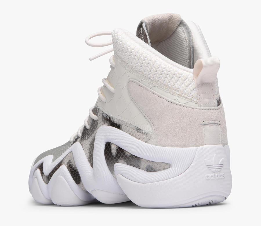 9fa4d0c632 Look For The adidas Crazy 8 ADV White Snake Now • KicksOnFire.com