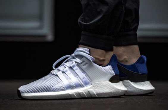 best sneakers f0845 6bddd The adidas EQT Support 93/17 White Blue Is Now Available ...