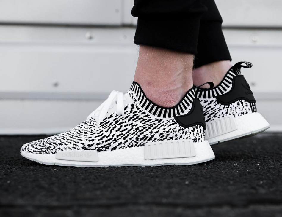 best website a7797 2b946 Now Available: adidas NMD R1 Zebra (Sashiko) White ...