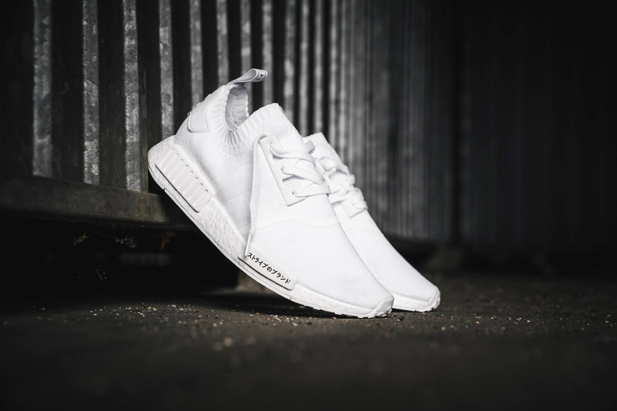 adidas NMD R1 Primeknit Japan Triple White Releasing This