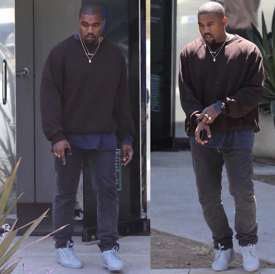 The Grey adidas Yeezy Powerphase Is