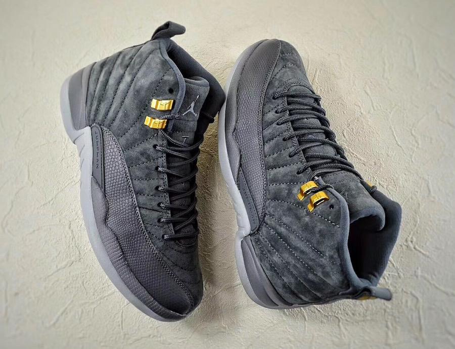 hot sale online 57089 0affa Release Date: Air Jordan 12 Dark Grey • KicksOnFire.com
