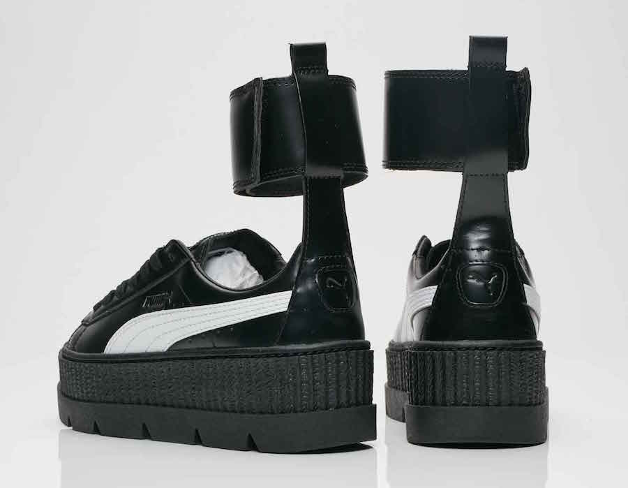 new style b34c2 e9f93 The Rihanna x PUMA Ankle Strap Creeper Comes With An ...