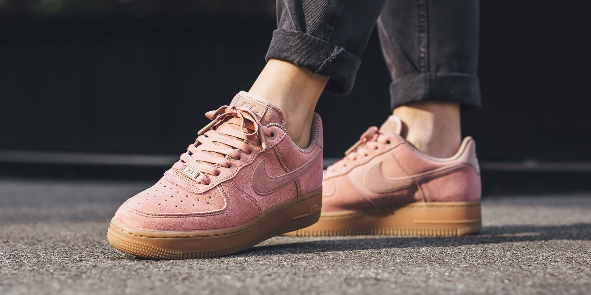 nike air force 1 low womens pink