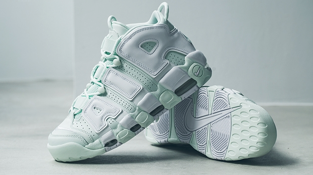 big sale 123c2 3b8d0 Nike Air More Uptempo Barely Green Releasing This Week • KicksOnFire.com