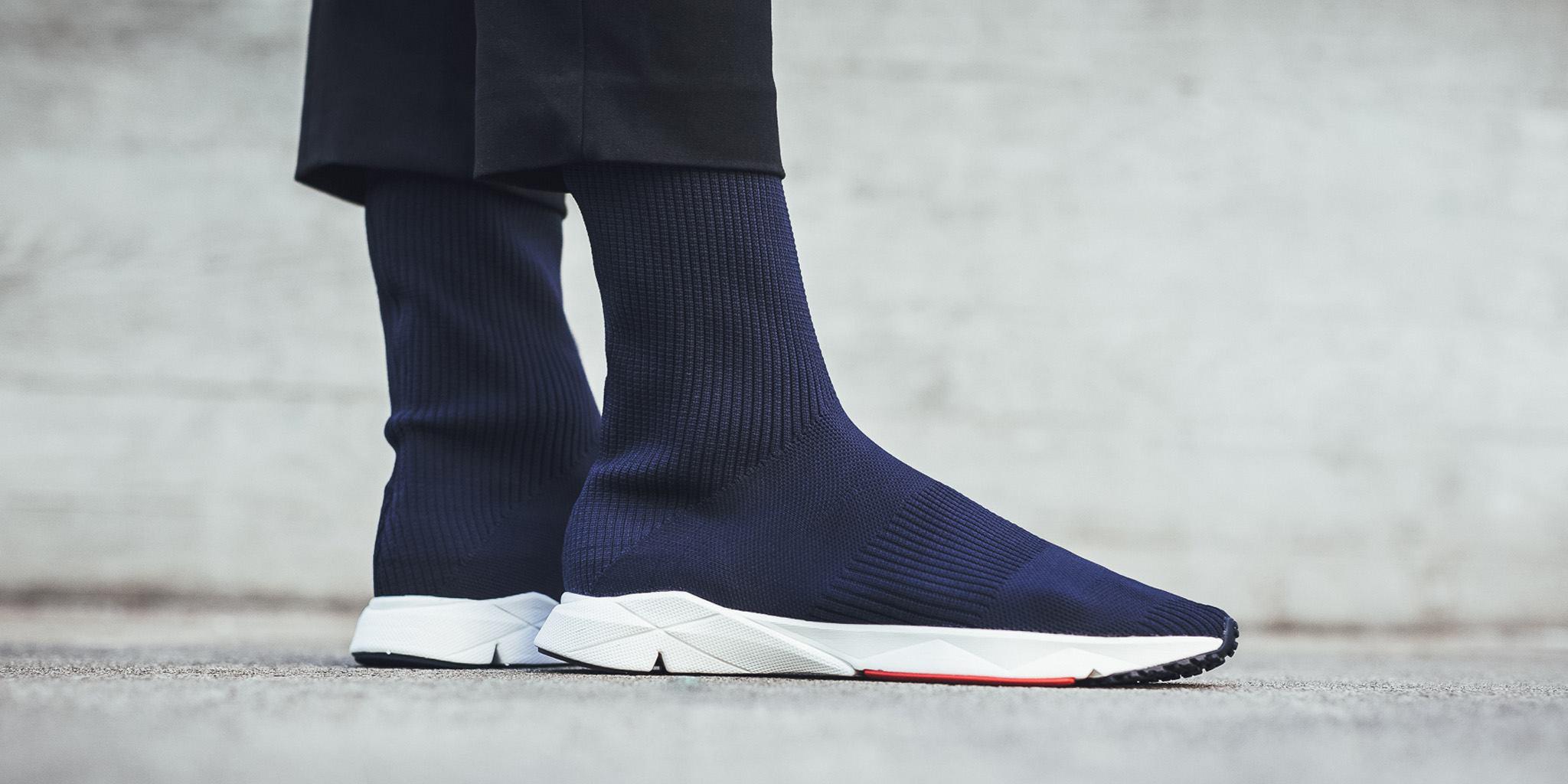 Dispensación Pef sólido  Navy Covers The Latest Reebok Sock Runner UltraKnit • KicksOnFire.com