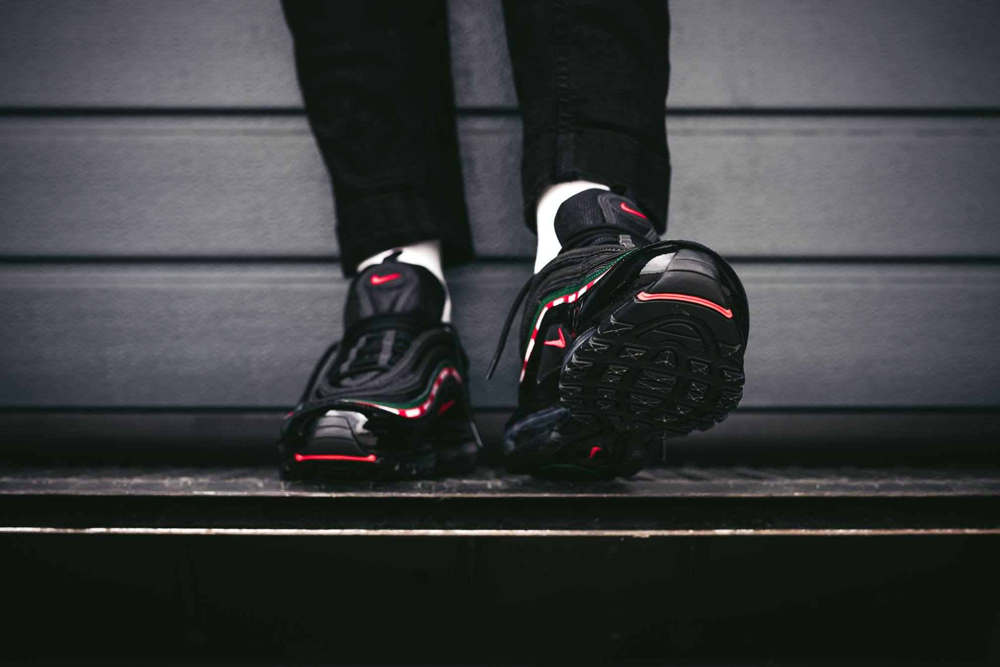 Undefeated x Nike Air Max 97 OG Black AJ1986 001 | Shoes
