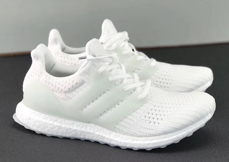 the best attitude 683fe 469d5 Detailed Images Of The adidas Ultra Boost 4.0 Triple White ...